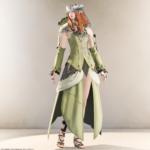白魔道士 ミラプリ:ノフィカコーデ