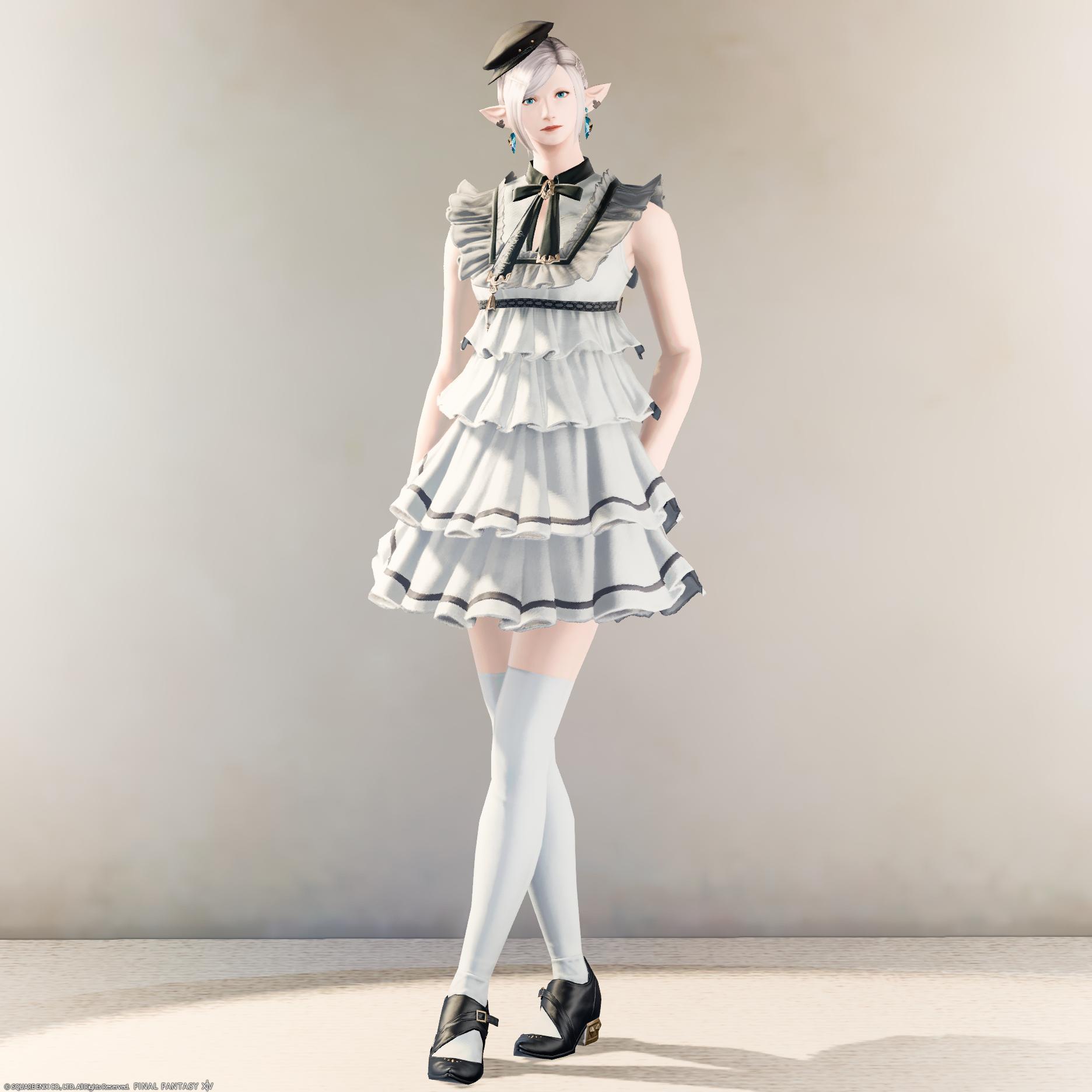 Eorzea Database Quaintrelle 39 S Ruffled Dress Final Fantasy Xiv The Lodestone [ 1872 x 1872 Pixel ]